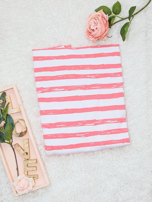 "Jersey ""pink stripes"""