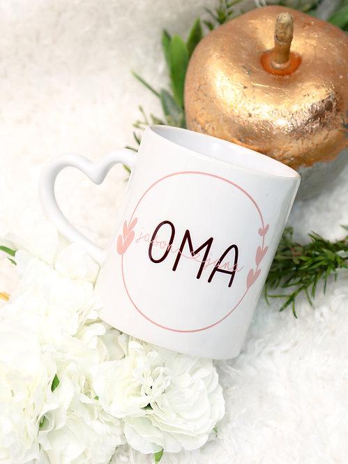 """Tasse beschriftet """"OMA"""""""