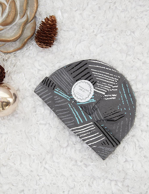 Bündchen-Mütze 6-12 Monate