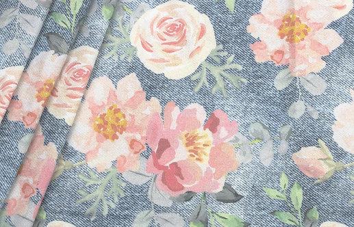 """Bio Jeans Jersey """"flowers"""""""