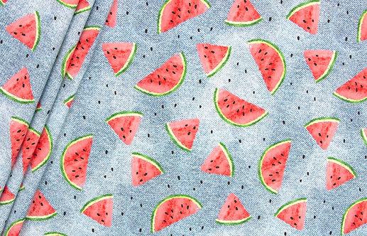 """Bio Jeans Jersey """"Wassermelone"""""""