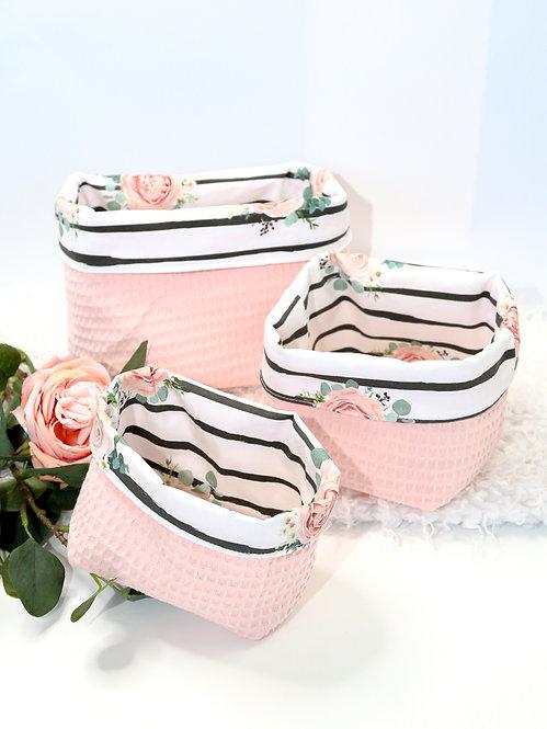 "Utensilo Waffel ""stripes & roses"""