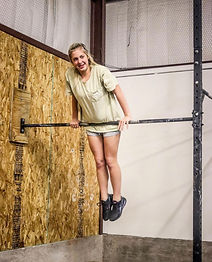 Girl working out at the best gym in altus okalhoma