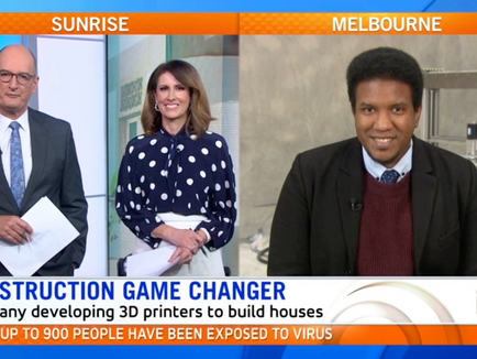 Sunrise: New company allowing Aussies to 3D print their dream home