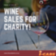 Wine Sales for Charity Social Media Grap