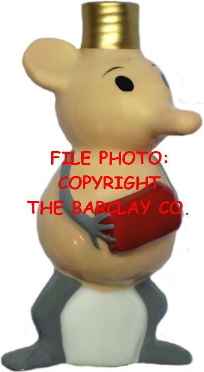 "#BC-087 - Krazy Kat ""Milk Glass"" Bulb Cover - Ignatz Mouse"