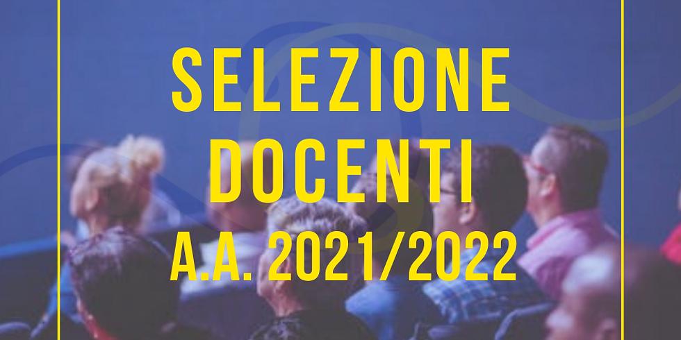 Selezione Docenti a.a. 2021/2022
