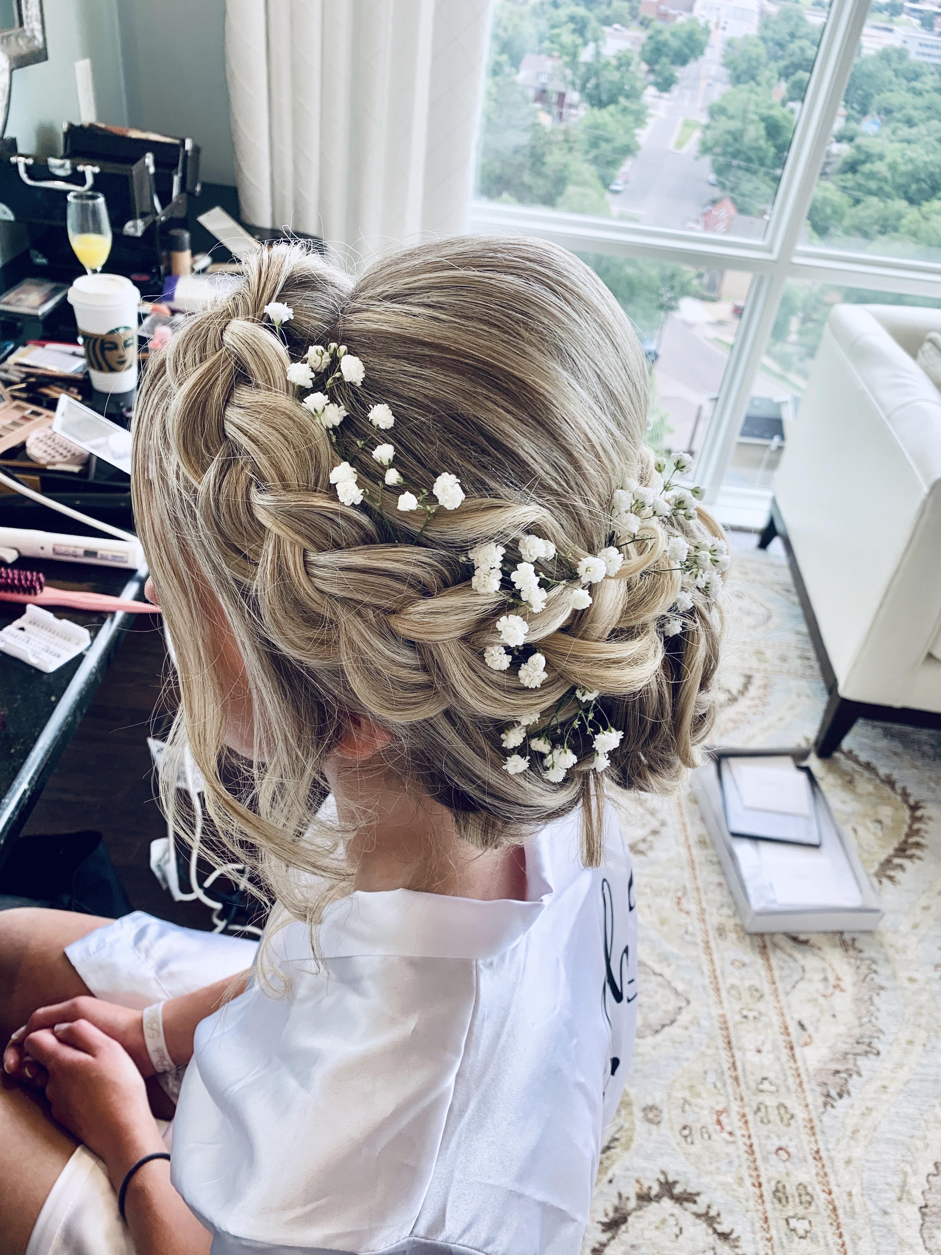 Bridal Updo Braid