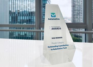 로보센스(Robosense CEO Steven Qiu), 2020 TU-오토모티브 어워드(Outstanding Contribution to Automotive Tech Award 부문) 수상