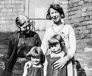1930 circa Granny Smyth, Hagan, Charlott