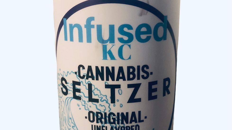 Infused KC CBD Seltzer Unflavored