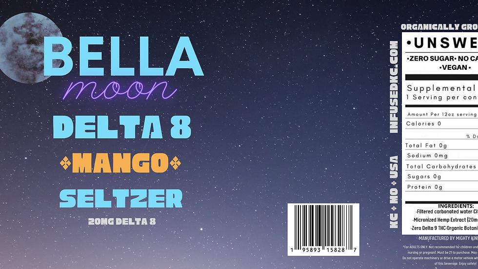 Bella Moon Delta 8 Seltzer Mango