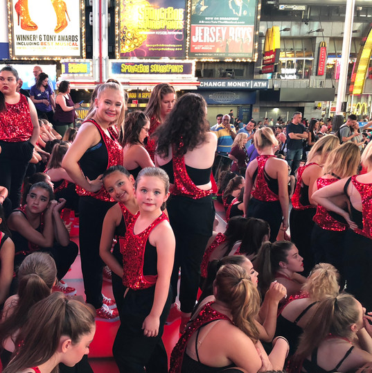 Times Square Performance
