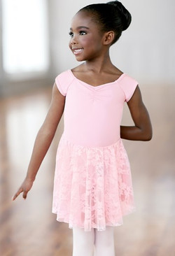 Lace Skirt Leotard