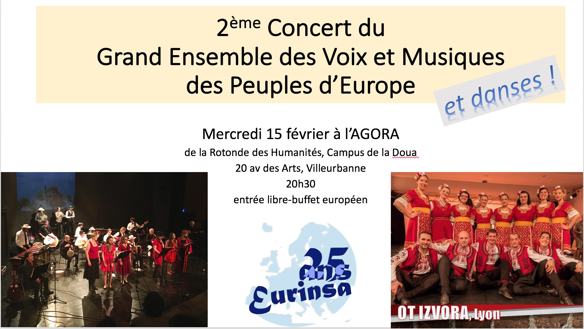 2è concert avec le Grand Ensemble !