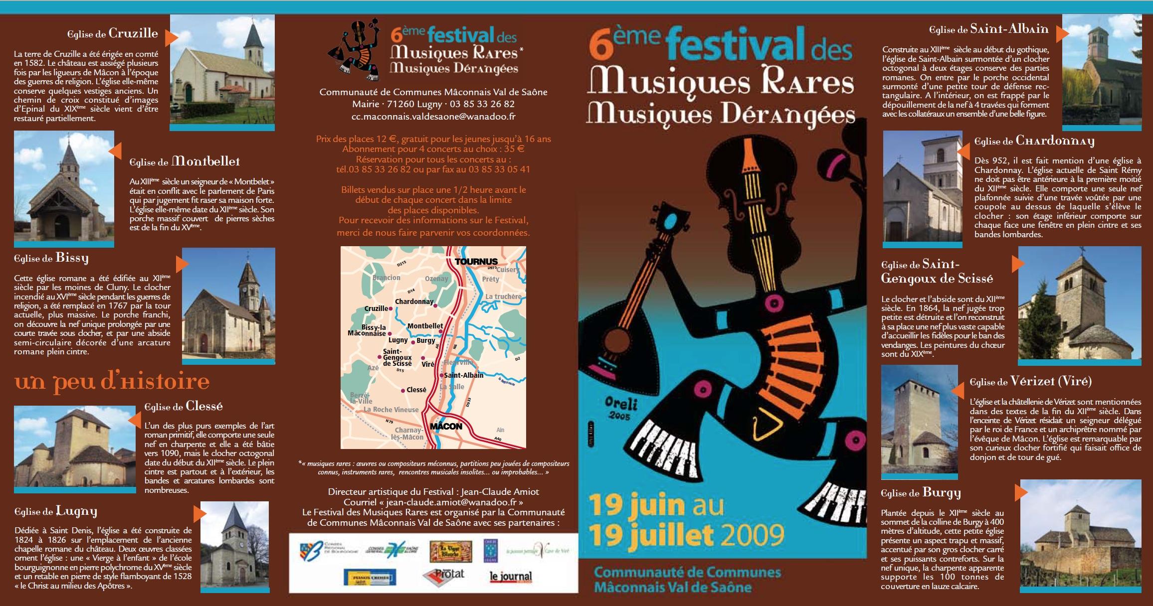 Festival des Musiques Rares_2009