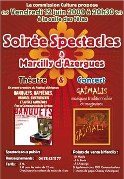 Concert à Marcilly d'Azergues