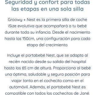 Groowy + nest de Jané