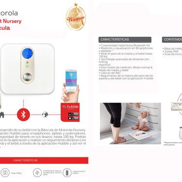 Motorola Smart Bascula