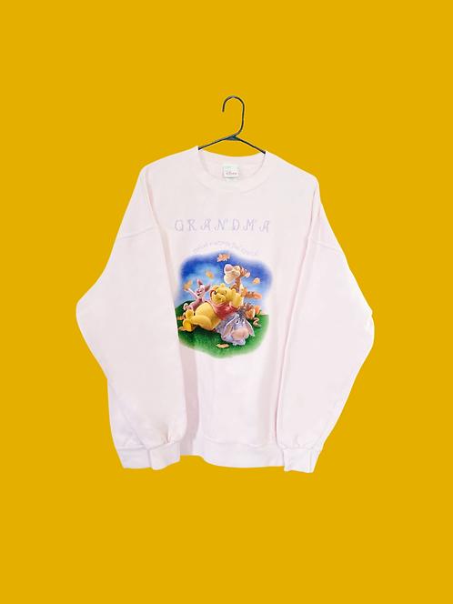 (XL) Vintage Pooh Grandma Sweatshirt