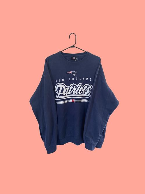 (L) Vintage Patriots Sweatshirt