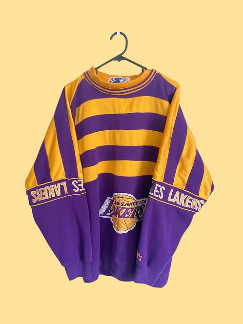 (L) Rare Vintage Lakers Sweatshirt