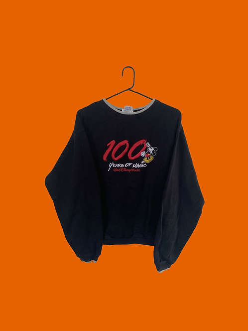 (S) Vintage 100years Mickey Sweatshirt