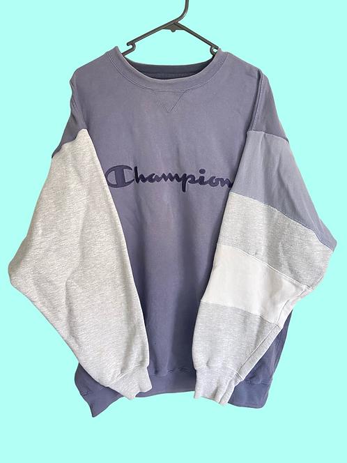 (XL) Vintage champion custom Sweatshirt