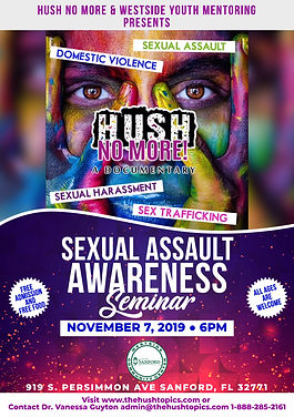 SEXUAL ASSAULT AWARENESS SEMINAR-Sanford