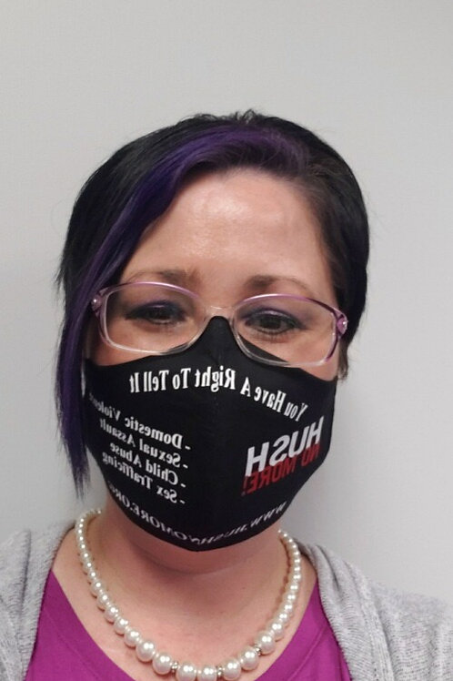 HUSH No More Face Mask w/Filter