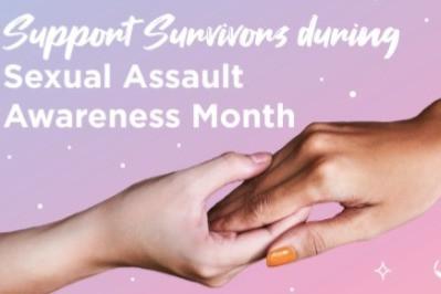 HUSH No More Celebrates Sexual Assault Awareness Month