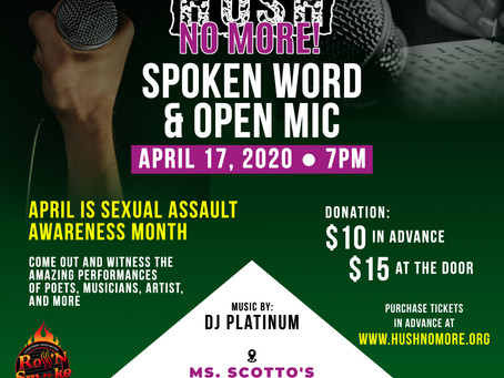 Let's have some fun during Spoken Word & Open Mic Night!