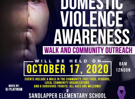 Registration is now OPEN! 2020 Domestic Violence Walk