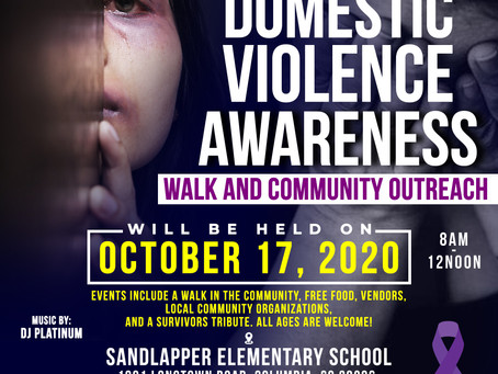 Registration is now OPEN! 2020 Domestic Violence Walk