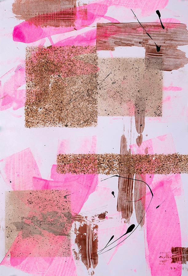 Neon Pink Trees #1