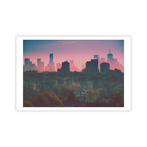 Pink Mist - Cityscapes Collection 1