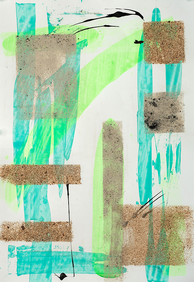 Neon Green Trees #3