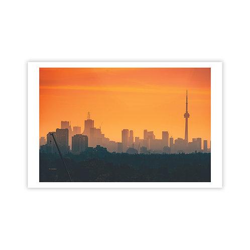 Orange Mist - Cityscapes Collection 1