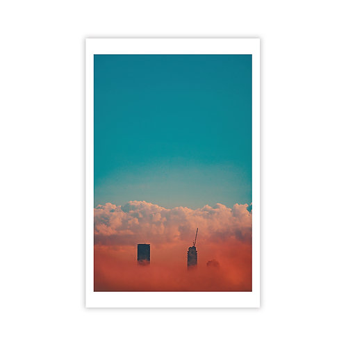 Tall Sky 1 - Cityscapes Collection 1