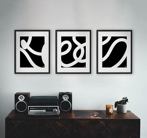 Living Room Home Decor Wall Art