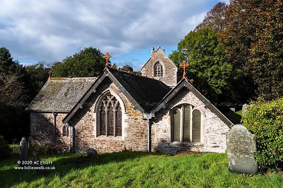 Mevagissey Parish Church photo and fine art print