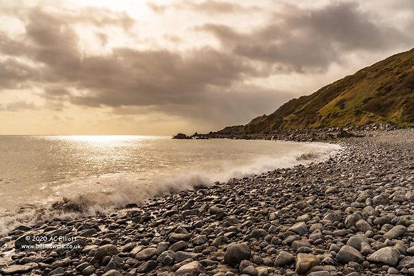 Godrevy Cove sunlight