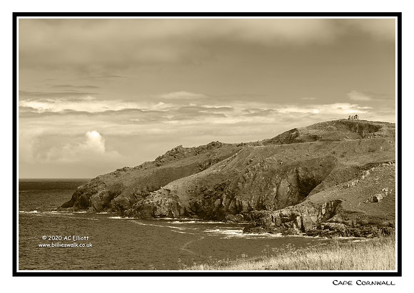 Cape Cornwall view Greeting Card
