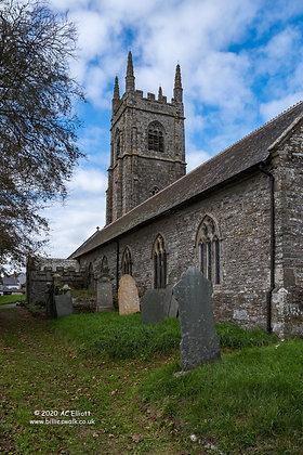 St Goran Parish Church photo and fine art print