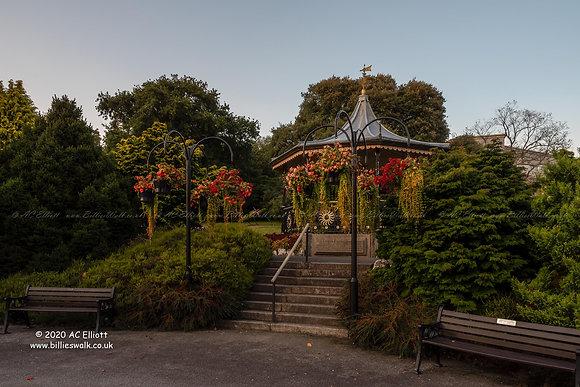 Victoria Gardens bandstand photo and fine art print