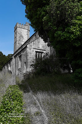 A limited colour photo and fine art print of St Paul's Church, Chacewater