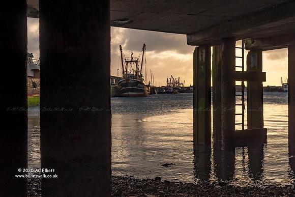 Newlyn Harbour pier