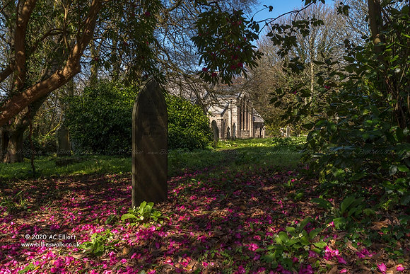 Treslothan Churchyard
