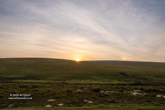 Buttern Hill sunset