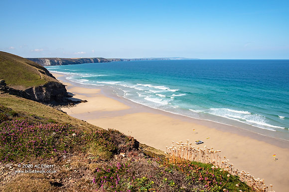 Chapel Porth Beach and Wheal Coates Walk
